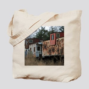 Two Cabooses Tote Bag