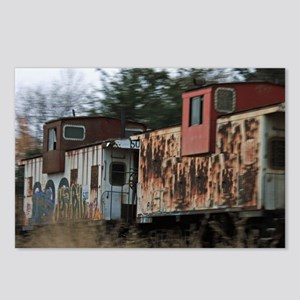 Two Cabooses Postcards (Package of 8)