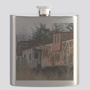 Two Cabooses Flask