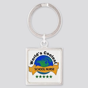 school nurse Square Keychain