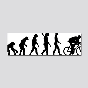 Evolution cycling Car Magnet 10 x 3