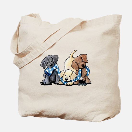 Lab Play Tote Bag