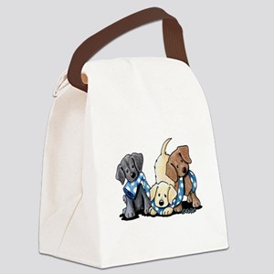 Lab Play Canvas Lunch Bag