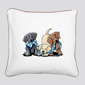 Lab Play Square Canvas Pillow