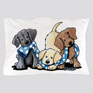 Lab Play Pillow Case