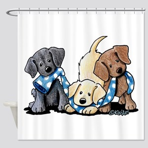 Lab Play Shower Curtain