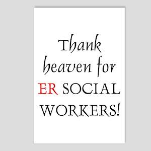 Thank Heaven ER BRT Postcards (Package of 8)
