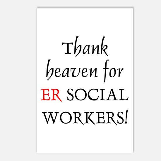 Thank Heaven ER BRT Postcards (Package of 8)
