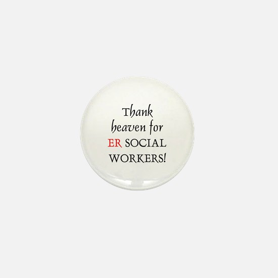 Thank Heaven ER BRT Mini Button