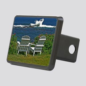 Surfside Oceanfront View Rectangular Hitch Cover