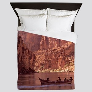 Grand Canyon Dory at Sunrise Queen Duvet