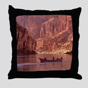 Grand Canyon Dory at Sunrise Throw Pillow