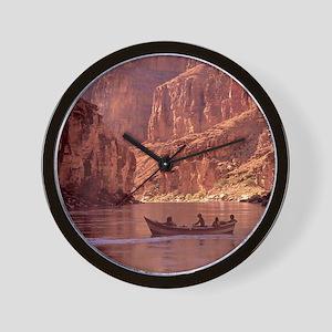 Grand Canyon Dory at Sunrise Wall Clock