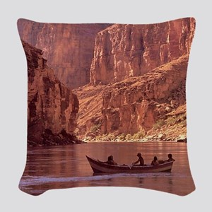 Grand Canyon Dory at Sunrise Woven Throw Pillow