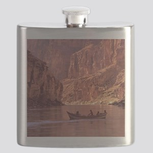 Grand Canyon Dory at Sunrise Flask