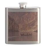 Grand canyon boating Flask Bottles