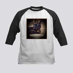 Burmese Cat (FancieR) Kids Baseball Jersey