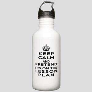 Keep Calm Lesson Plan Stainless Water Bottle 1.0L