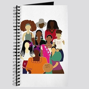 Brown Lady Collage Journal