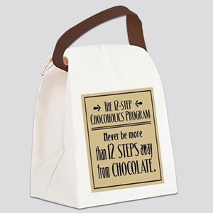 Chocoholic Canvas Lunch Bag