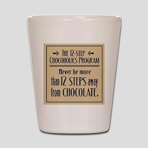 Chocoholic Shot Glass