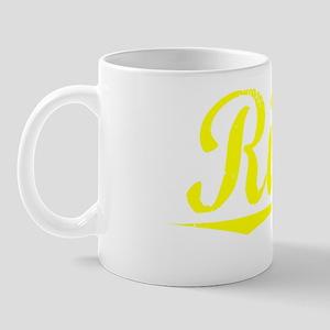 Riggs, Yellow Mug