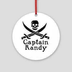 Captain Randy Ornament (Round)