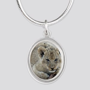 This Is MY Stick Silver Oval Necklace