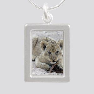This Is MY Stick Silver Portrait Necklace