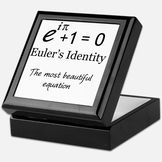 Beautiful Eulers Identity Keepsake Box