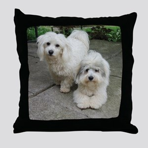 Cotons in oil Throw Pillow