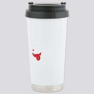 Sanity is overrated Stainless Steel Travel Mug