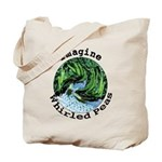 Imagine Whirled Peas Tote Bag