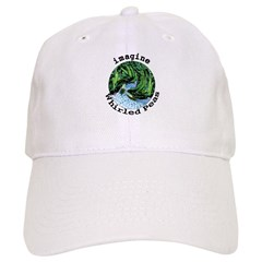 Imagine Whirled Peas Baseball Cap