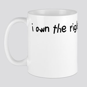 i own the right to kill myself Mug