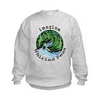 Imagine Whirled Peas Kids Sweatshirt