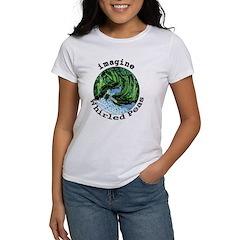 Imagine Whirled Peas Women's T-Shirt