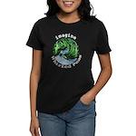Imagine Whirled Peas Women's Dark T-Shirt
