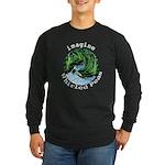 Imagine Whirled Peas Long Sleeve Dark T-Shirt