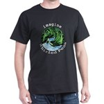 Imagine Whirled Peas Dark T-Shirt