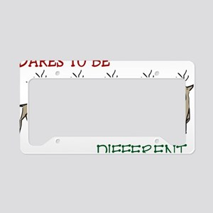 Daring  Reindeers License Plate Holder