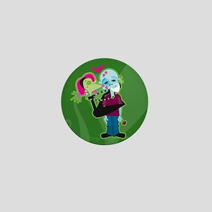 Zombie Valentine Mini Button