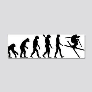 Evolution Ski Car Magnet 10 x 3