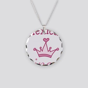 Mexican Princess Necklace Circle Charm
