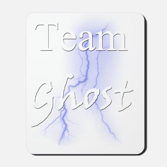 Team Ghost for Dark Shirt Mousepad