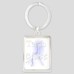 Team Ghost for Dark Shirt Portrait Keychain