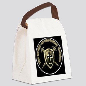 The Order of Christian Knights (O Canvas Lunch Bag