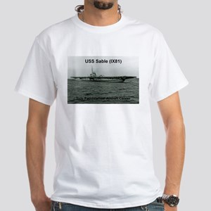 USS Sable (IX81) White T-Shirt