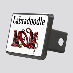 Labradoodle Mom Rectangular Hitch Cover