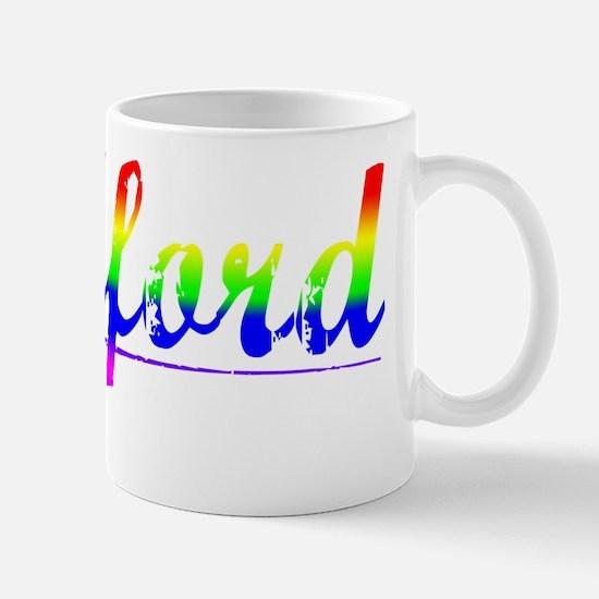 Radford, Rainbow, Mug